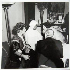 Maryse Busquet et Le Glaoui